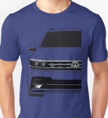 VW Tiguan R Line Half Cut T-Shirt