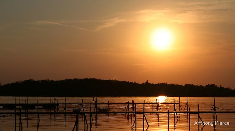 Sailing Club Sunset by Anthony Pierce