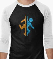Portal Splatter Men's Baseball ¾ T-Shirt