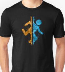 Portal Splatter Unisex T-Shirt