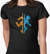 Portalsplatter Tailliertes T-Shirt