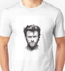 Logan Shane plain WhiteBG T-Shirt
