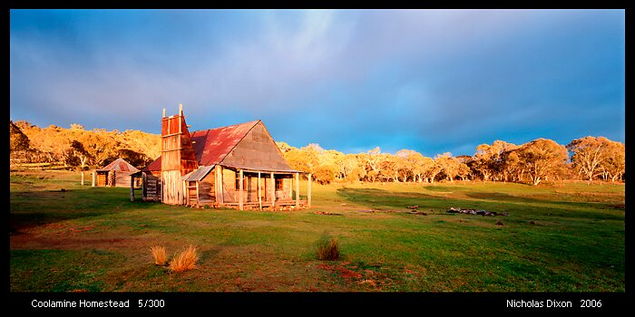 Coolamine Homestead by Nick Dixon