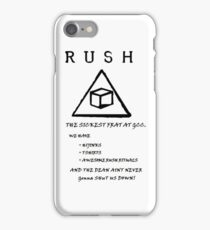 Community Delta Cubes Poster iPhone Case/Skin