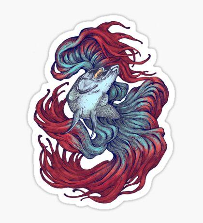 Betta New Wave Sticker