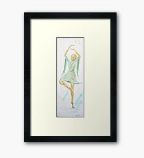 dancing like a butterfly Framed Print