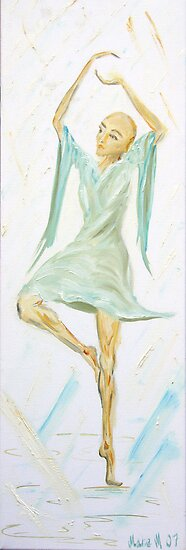 dancing like a butterfly by Marie Magnusson