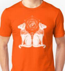 Cat Mandala - Egyptian Sphinx Horus Tattoo -  Symbol of Goddess Bastet T-Shirt