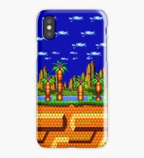 Sonic CD - Palmtree Panic iPhone Case/Skin