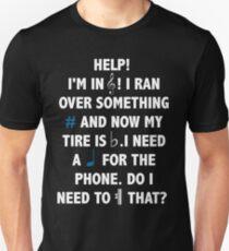 Help! I'm in Treble! Unisex T-Shirt