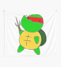 Derp Raph Wall Tapestry