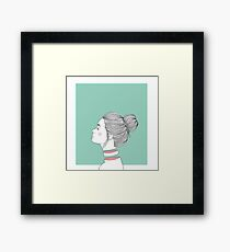 Pieces Framed Print