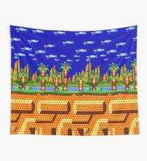 Sonic CD - Palmtree Panic Wall Tapestry