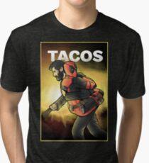 Tacos Tri-blend T-Shirt
