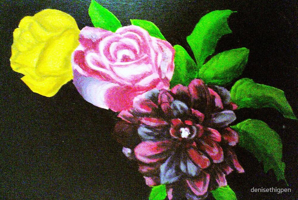 flowers by denisethigpen