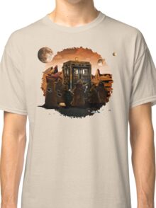 wrecked time and space traveller Box with junk collector Classic T-Shirt