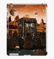 wrecked time and space traveller Box with junk collector iPad Case/Skin