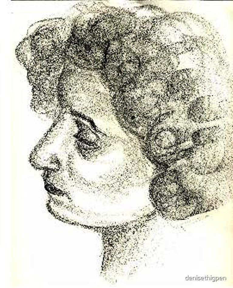 Lady by denisethigpen