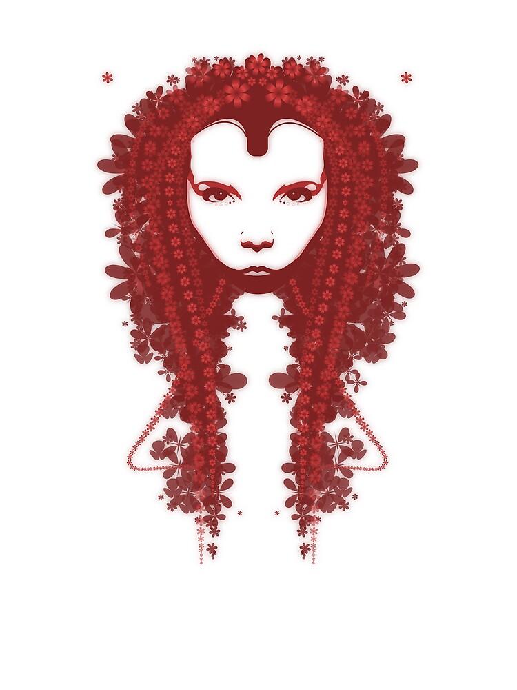 Persephone - Red by Brad Sharp
