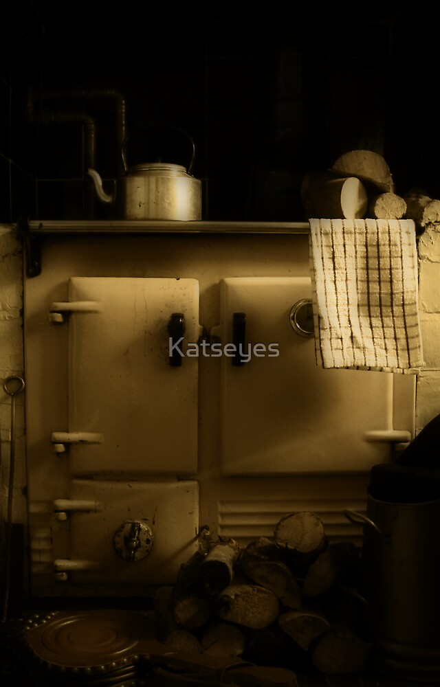 AN ENGLISH FARMHOUSE KITCHEN by Katseyes
