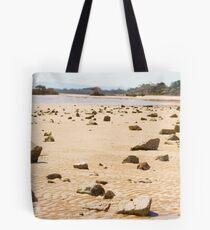 Rock Landscape Tote Bag