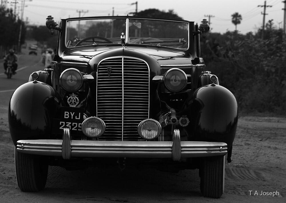 Vintage car by T A Joseph