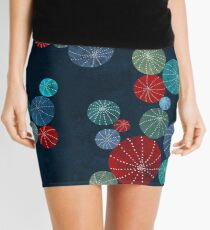 Colorful cactus field Mini Skirt