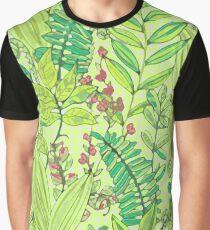 Greenery pattern nº1 Graphic T-Shirt