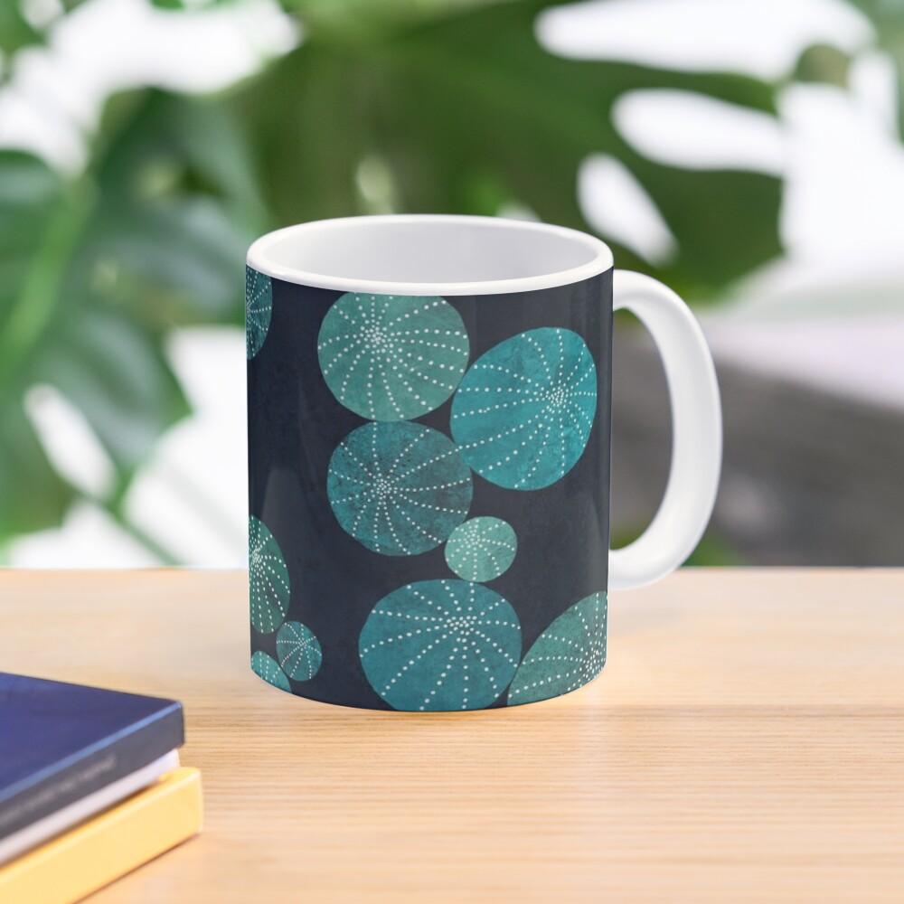 Turquoise cactus field Mug