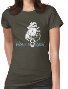 Wolf Animal Vector Womens Fitted T-Shirt