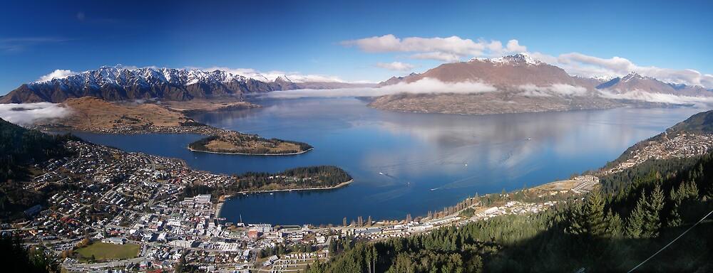 Queenstown, New Zealand by David James