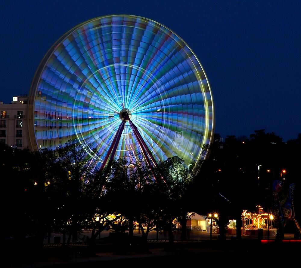 yarra wheel by Leigh  Parkin