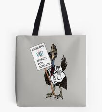 March for Science Brisbane – Cassowary, full color Tote Bag
