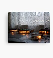 Night Time In the Village Canvas Print