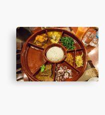 Myanmar. Bagan. Restaurant. Dinner. Canvas Print