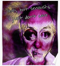 Just don't care Poster