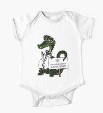 March for Science Launceston– Crocodile, full color Kids Clothes