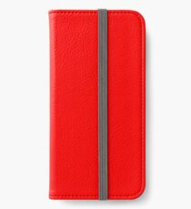 Red iPhone Wallet/Case/Skin
