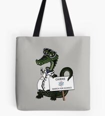 March for Science Cairns – Crocodile, full color Tote Bag
