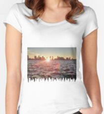 Melt The Hudson River Women's Fitted Scoop T-Shirt