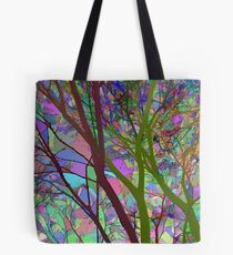 Stained Glass Nature Two Tote Bag
