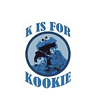 K is for Kookie by SHOWMETHEKSHIRT