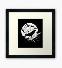 Sag Nevermore! Gerahmtes Wandbild