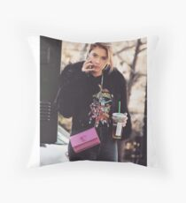 Streetstyle Throw Pillow