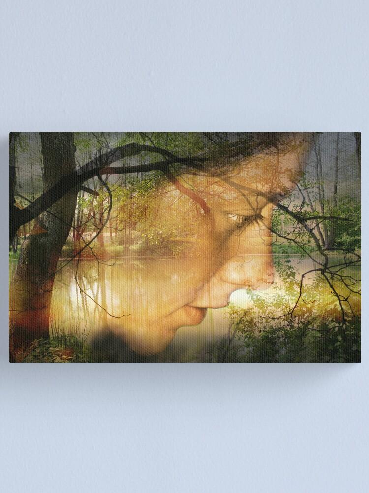 Alternate view of Love me always Canvas Print