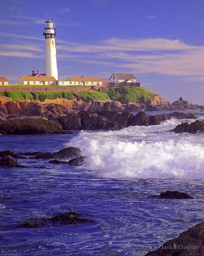 Pigeon Point Lighthouse by Janice Crayton