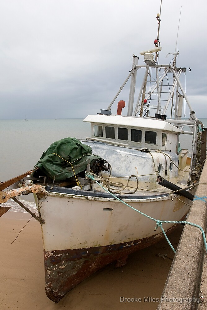 Wasted fishin boat  by Brooke Miles Photography