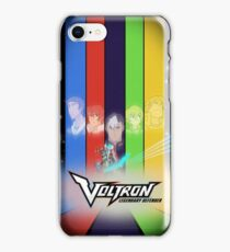 Voltron:LD Retro-ish Poster iPhone Case/Skin