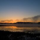 Sunrise over Harris by Jerry  Mumma