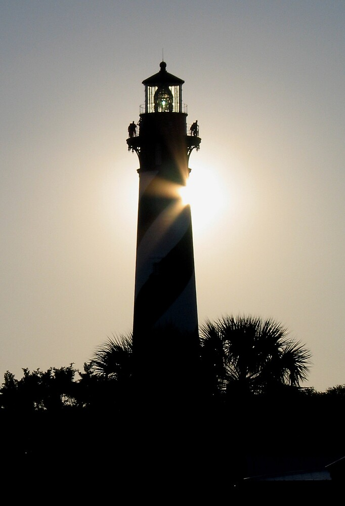 St. Augustine Light House by John  Simmons